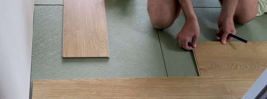 gulvlaegning