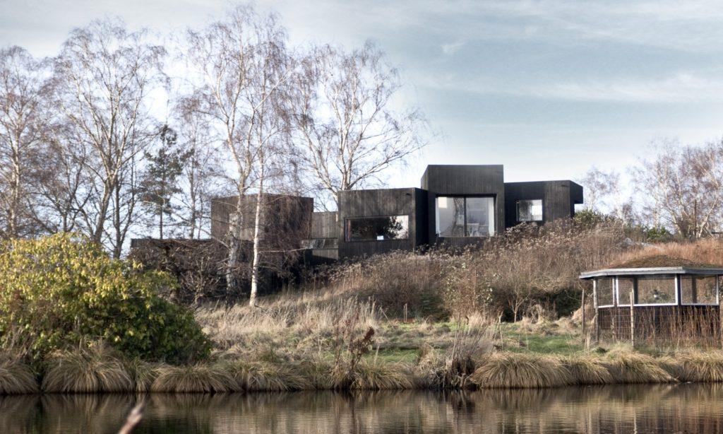 Referencer: Komplet arkitektarbejde, skitsering, myndighedsansøgning, projektering og byggetilsyn: Sommerhus i Kulhuse