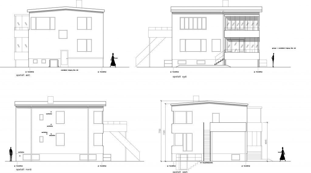 Referencer: Arkitektrådgivning i forbindelse med Funkishus i Gentofte
