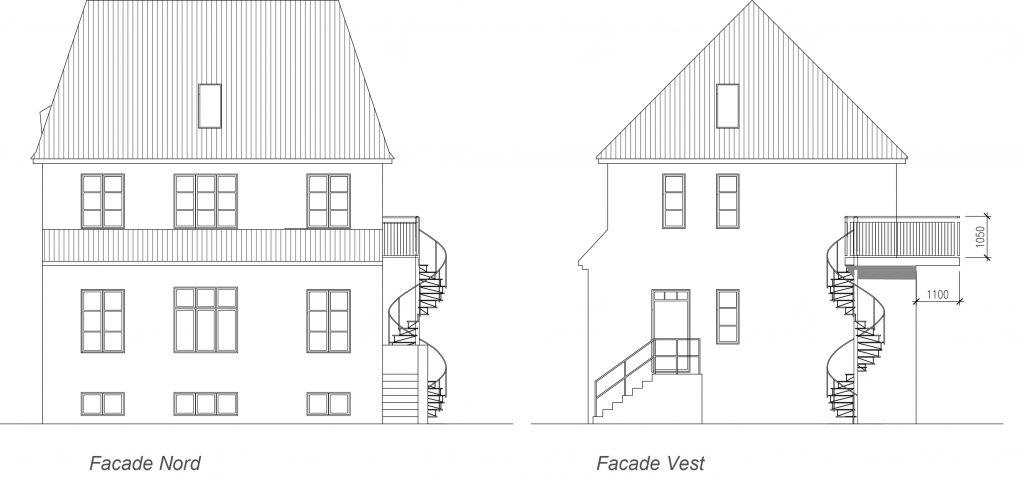Referencer: Arkitekt rådgivning ifm altanprojekt på Slotsherrensvej
