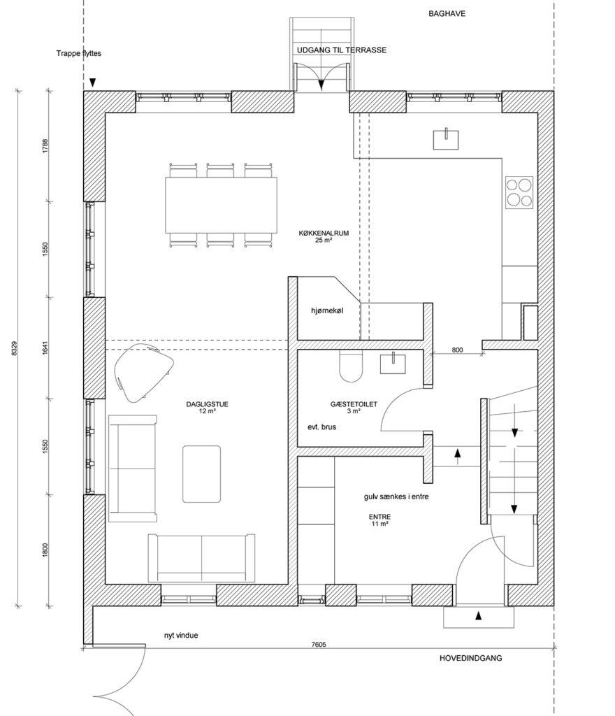 renovering af et humlebyhus